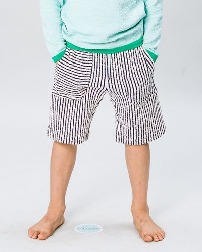 DRAWSTRING WAIST SHORTS CRASH LIGHT – image 1