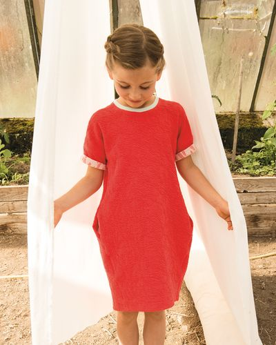 KURZARMKLEID CRASH STRAWBERRY – Bild 1
