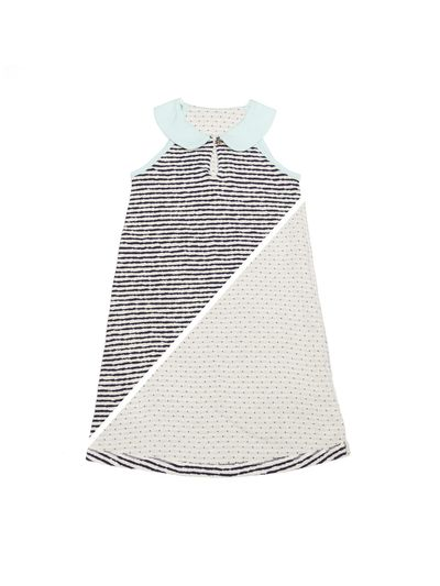 PETER PAN COLLAR DRESS CRASH LIGHT REVERSIBLE – image 2