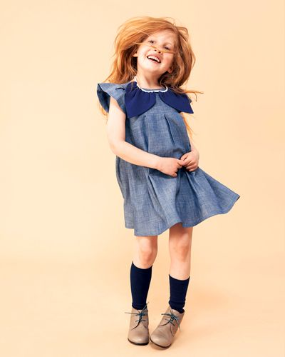 WINGS DRESS DENIM – image 3