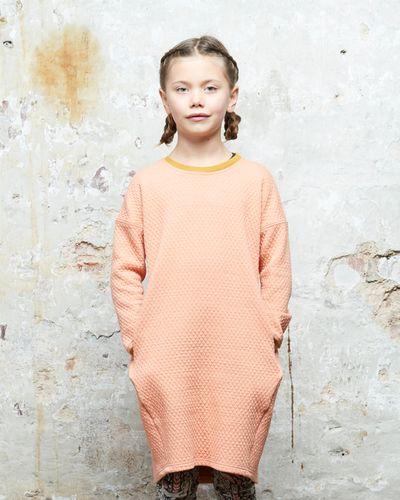 MERINO LONGSLEEVE DRESS (WAFFLE KNIT) – image 1