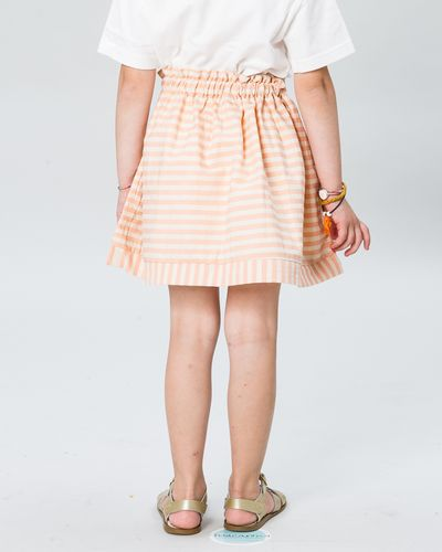 RUFFLED SKIRT SEERSUCKER – image 2