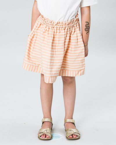 RUFFLED SKIRT SEERSUCKER – image 1