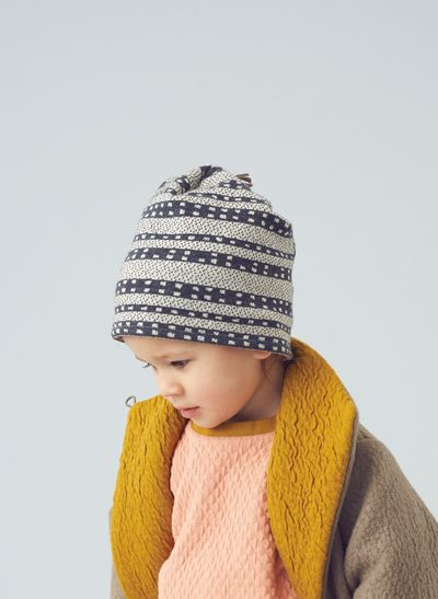 HAT (TRIBAL JACQUARD KNIT) – image 1