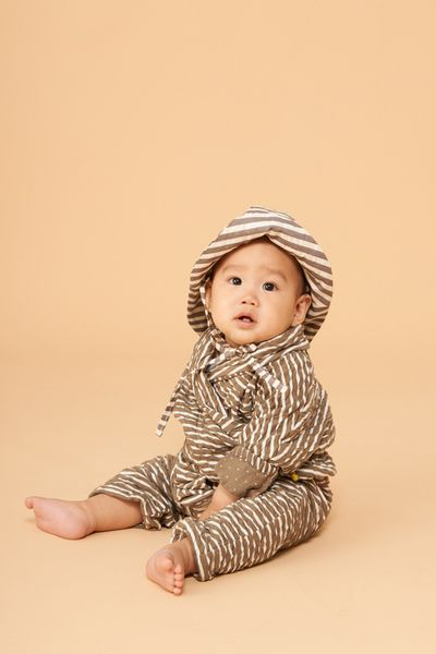STRIPE OVERALL (CRASH KNIT) – image 13