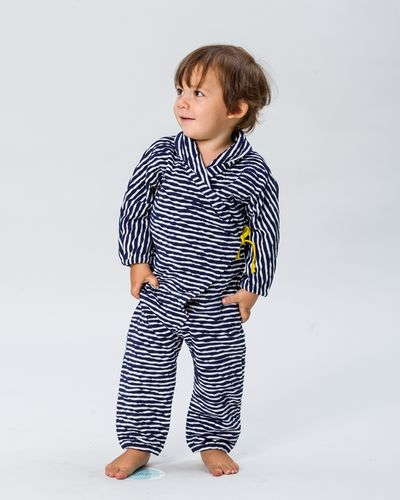 STRIPE OVERALL (CRASH KNIT) – image 1