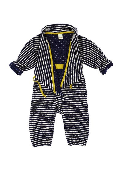 STRIPE OVERALL (CRASH KNIT) – image 3