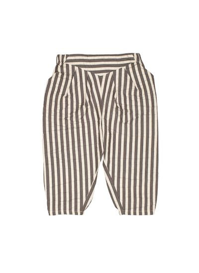 PLEATED PANTS (SEERSUCKER FABRIC) – image 1
