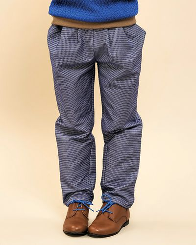 PLEATED PANTS PATTERN ROYALE – image 1