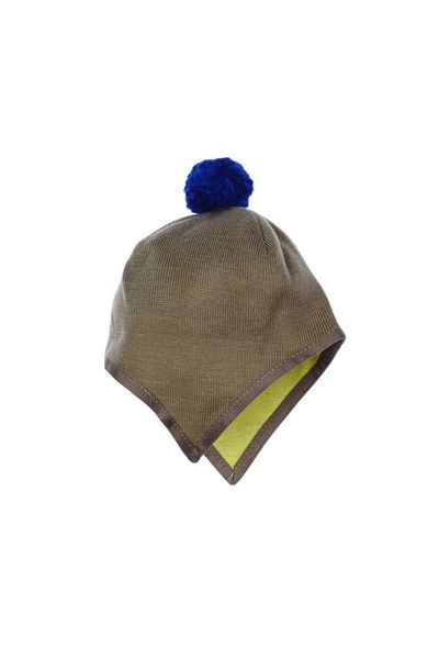 MERINO BABY HAT WITH EAR PROTECTION (FLAT KNIT) – image 5