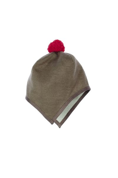 MERINO BABY HAT WITH EAR PROTECTION (FLAT KNIT) – image 6
