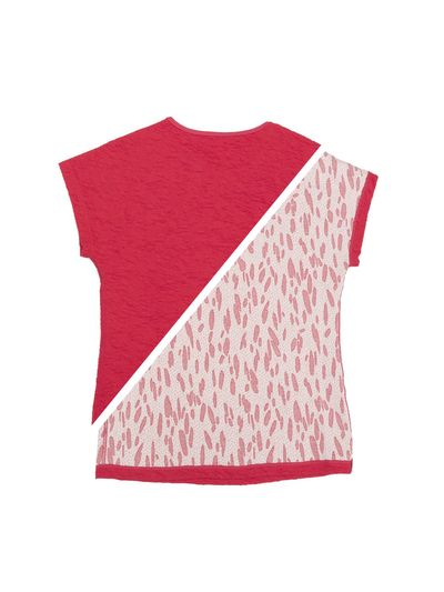 T-SHIRT REVERSIBEL (CRASH STRAWBERRY STRICK)