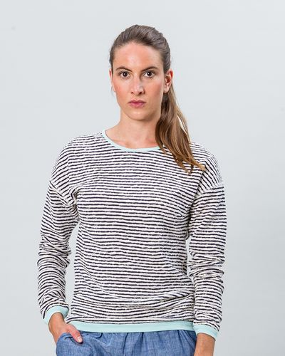 STRIPE PULLOVER REVERSIBLE (CRASH KNIT) – image 5