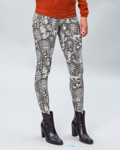 LEGGINS (JACQUARD MONKEY STRICK)
