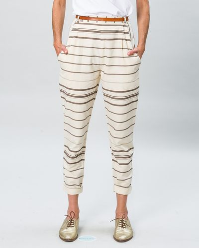 BUNDFALTENHOSE SUMMER COTTON