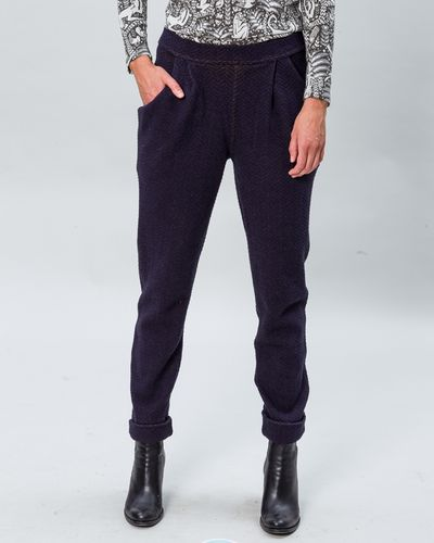 MERINO PANTS (HERRINGBONE STRUCTURE KNIT) – image 3