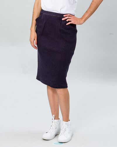 MERINO SKIRT (HERRINGBONE STRUCTURE KNIT) – image 1