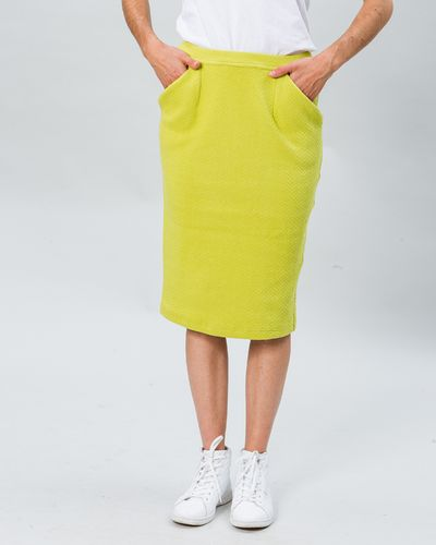 MERINO SKIRT (HERRINGBONE STRUCTURE KNIT) – image 6