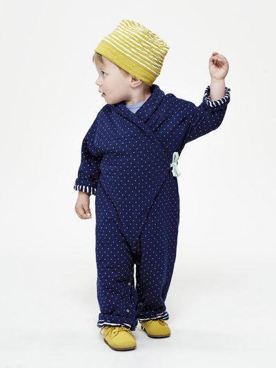 POLKA DOT OVERALL (MILLEDOTS KNIT) – image 1