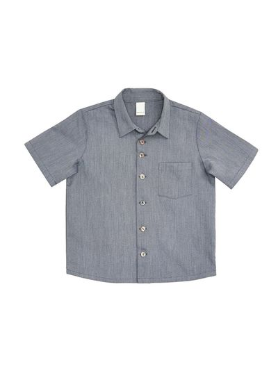 SHORT SLEEVE SHIRT (LINETTE WOVEN FABRIC) – image 3
