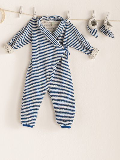 STRIPE OVERALL (CRASH KNIT) – image 7
