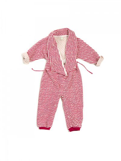 STRIPE OVERALL (CRASH KNIT) – image 4