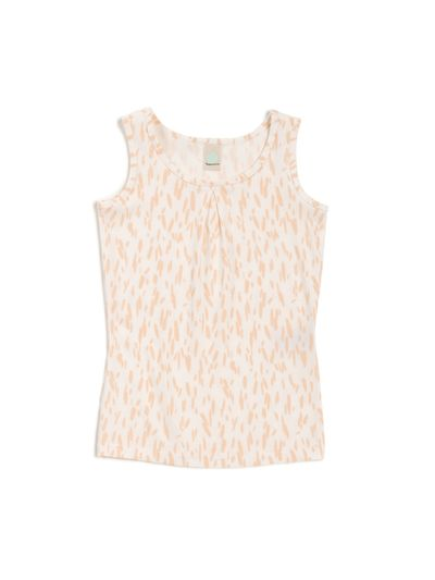 TANKTOP WITH INVERTED PLEAT RIB PRINT – image 1