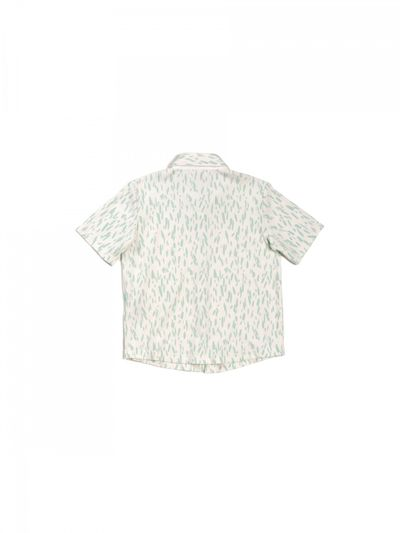SHORT SLEEVE SHIRT RIB PRINT – image 3