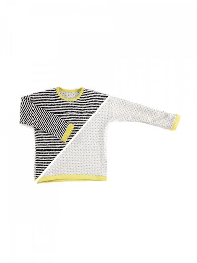STRIPE PULLOVER REVERSIBLE (CRASH STRUCTURE KNIT) – image 3