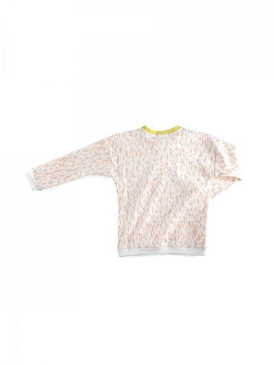 JERSEY PULLOVER RIB PRINT – image 5
