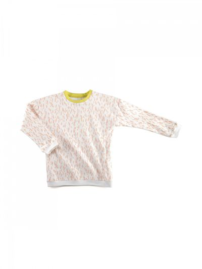 JERSEY PULLOVER RIB PRINT – image 4