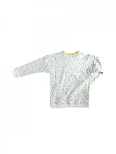 JERSEY PULLOVER (2/2 RIB KNIT PRINT) – image 4