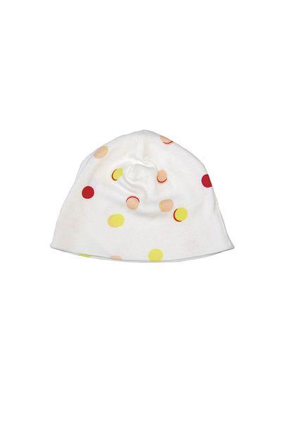 NEWBORN HAT (macarons PRINT RIB JERSEY) – image 1