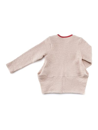 TRAPEZE JUMPER (RELIEF STRUCTURE KNIT) – image 2
