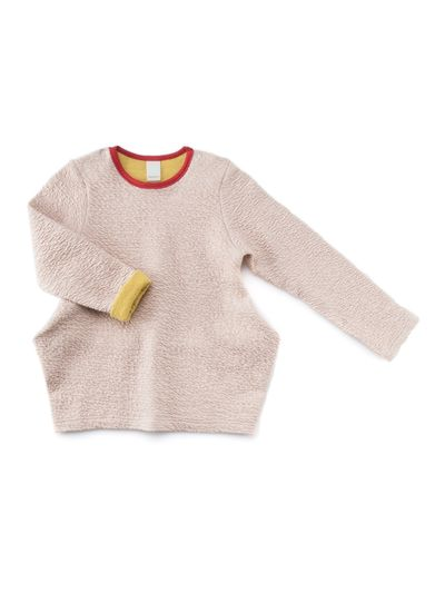 TRAPEZE JUMPER (RELIEF STRUCTURE KNIT) – image 1