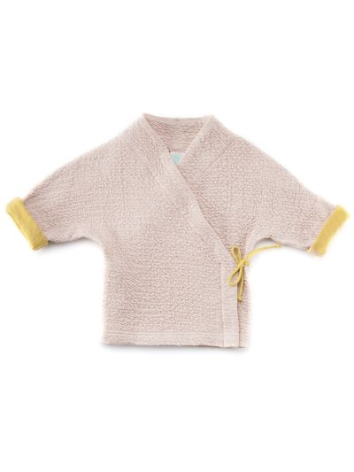 KIMONO CARDIGAN (RELIEF STRUCTURE KNIT) – image 4