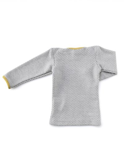 LONG SLEEVE T-SHIRT (PEARL KNIT) – image 4