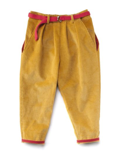 PLEATED PANTS CORDUROY – image 3