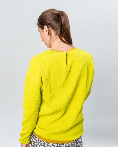 MERINO PULLOVER (WAFFLE STRUCTURE KNIT) – image 2
