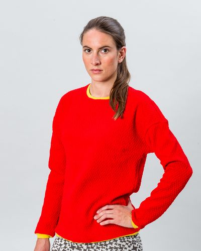 MERINO PULLOVER (WAFFLE STRUCTURE KNIT) – image 4