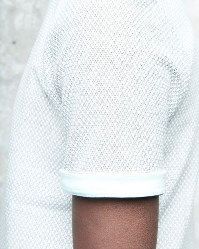T-SHIRT PEARL STRUCTURE KNIT – image 4