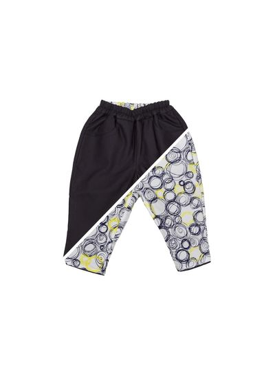 BABY PANTS REVERSIBLE (PIQUE WOVEN FABRIC) – image 3