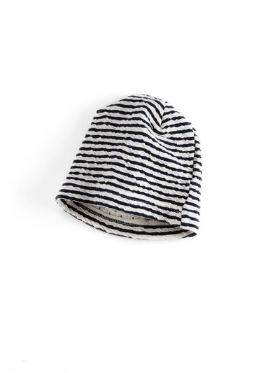 STRIPE HAT (CRASH KNIT) – image 2