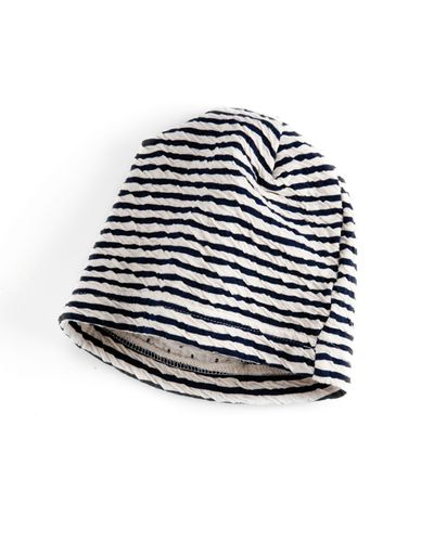 STRIPE HAT (CRASH STRUCTURE KNIT) – image 4