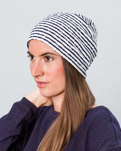 STRIPE HAT (CRASH STRUCTURE KNIT) – image 3