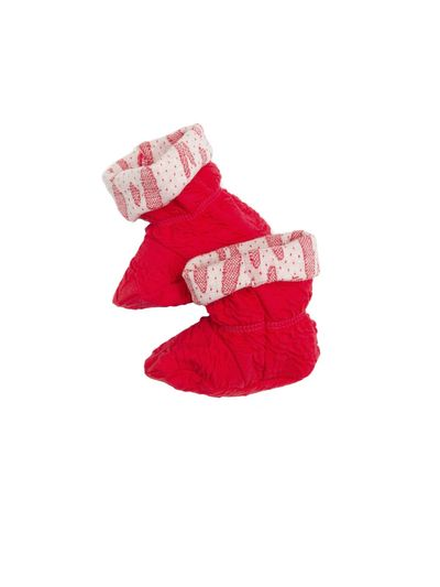 BABY SHOES (CRASH STRAWBERRY KNIT)