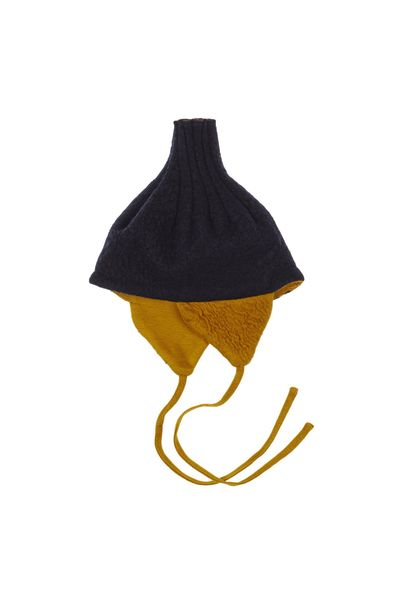 MERINO VOLCANO HAT (BOILED WOOL KNIT) – image 3