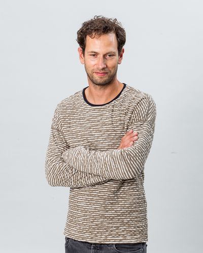 NEWSTRIPE PULLOVER REVERSIBLE (CRASH STRUCTURE KNIT) – image 1