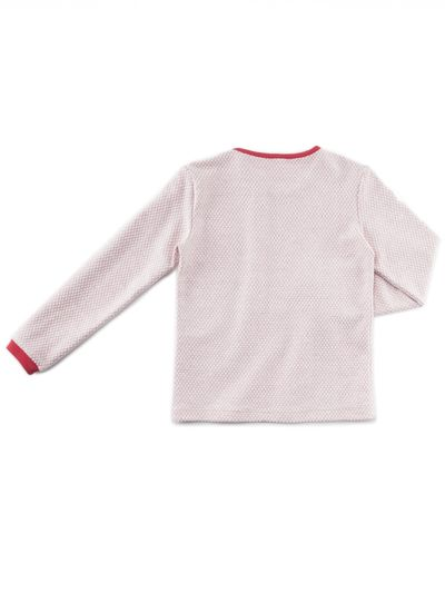 LONGSLEEVE T-SHIRT (PEARL STRUCTURE KNIT) – image 3