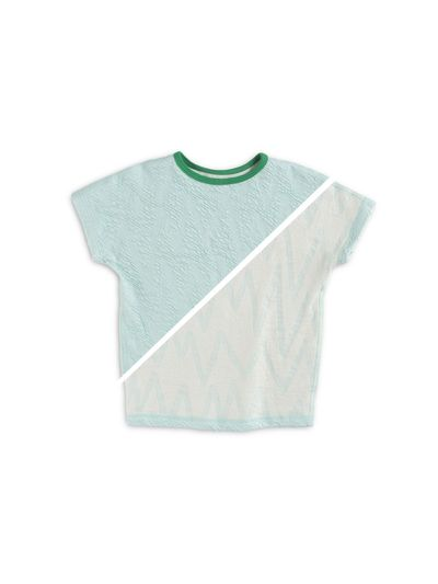 T-SHIRT REVERSIBLE (CRASH ZIGZAG KNIT) – image 2